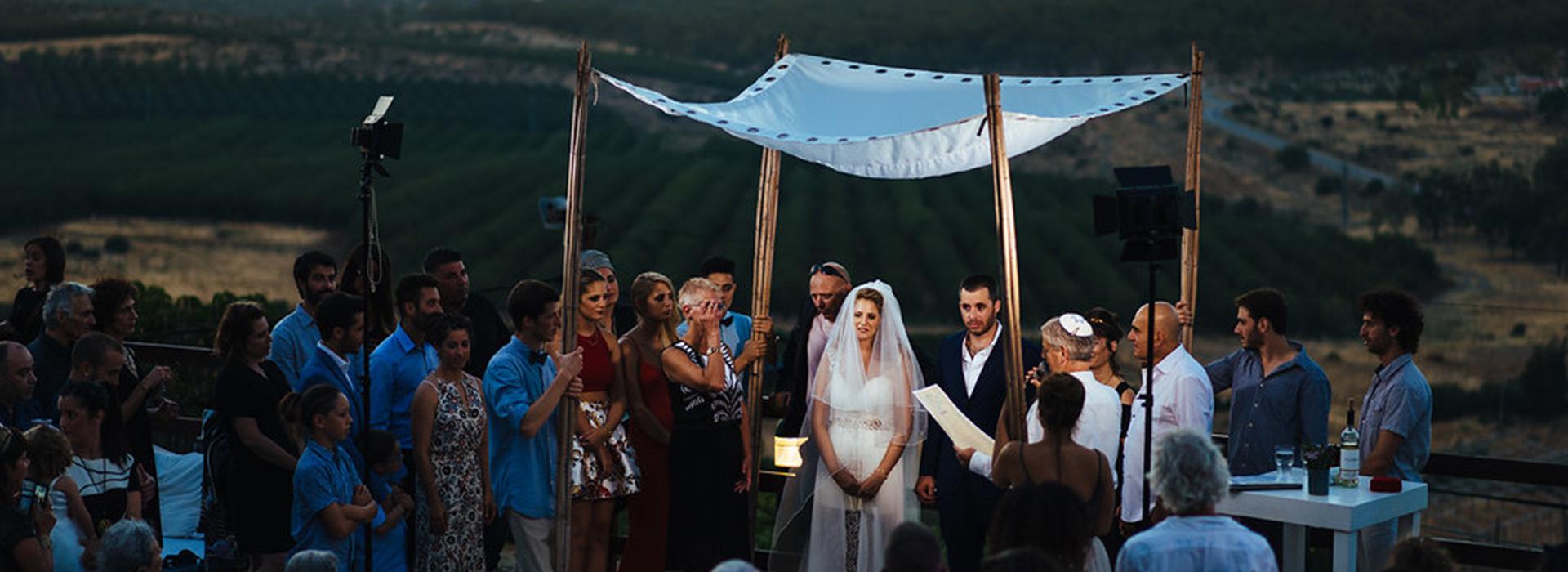 חתונה בחוות התבלינים בגלבוע